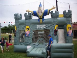 Wiard Obstacle, Bounce House and Slide